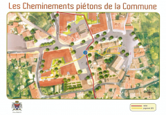 Cheminement pietons